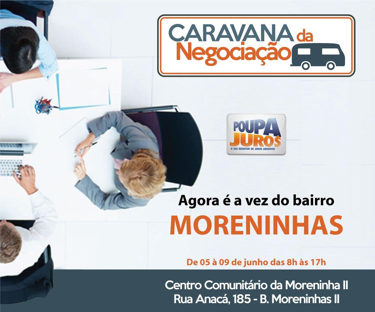 Post Caravana Oficial - Caravana da Negociação - Edição Moreninhas