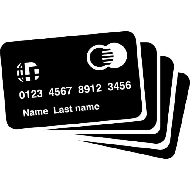 cartoes de credito silhueta 318 41374 - SERVIÇOS